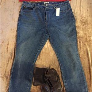 👖 NWT WARP+WEFT straight leg  jeans.